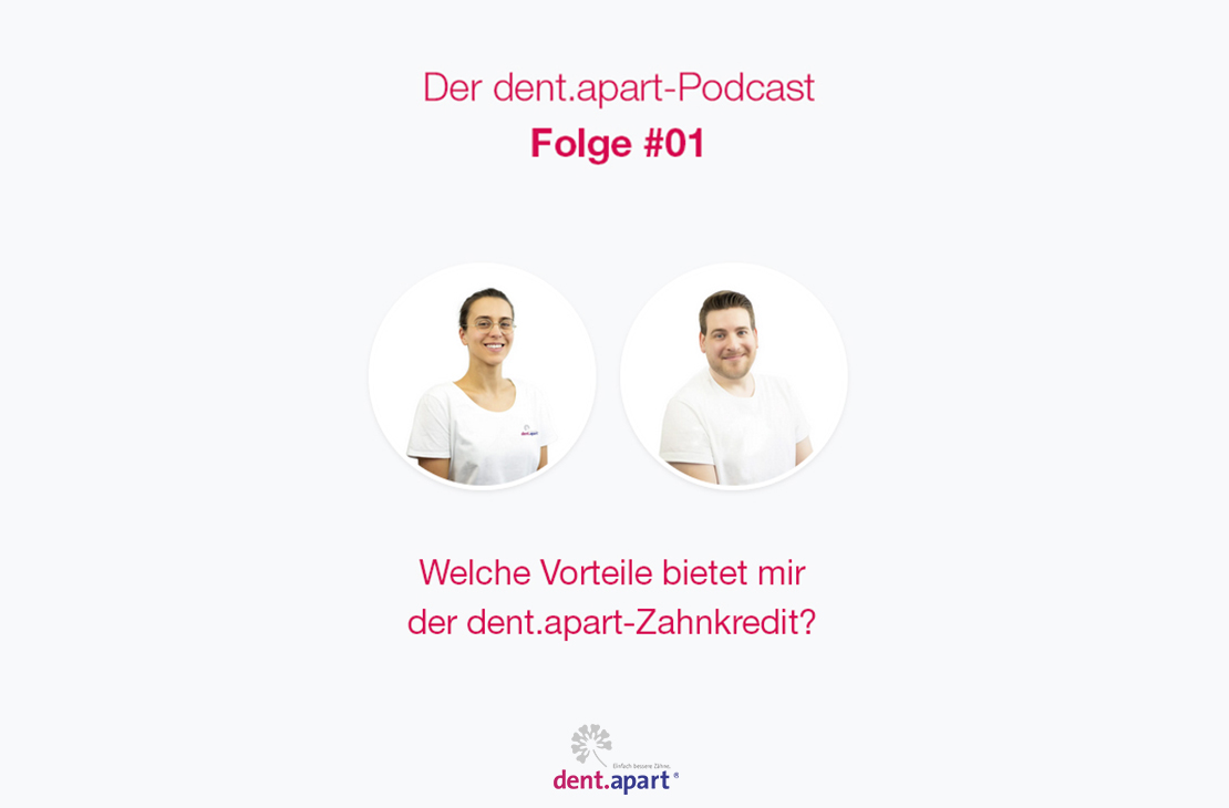 Der dent.apart-Podcast - Folge #01 mit Anne-Marie Lihl!