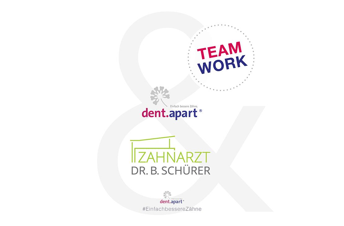 Zahnarztpraxis Dr. Burkhard Schürer - Teamwork - dent.apart-Zahnkredit